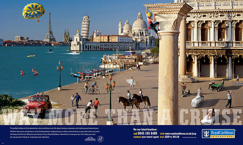 Royal Caribbean Advertisement<br />