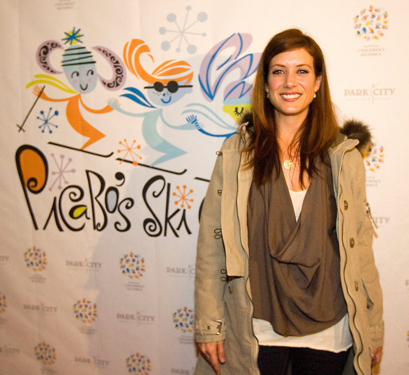 Actor Kate Walsh of Grey's Anatomy poses for the meida upon arrival at the National Children's Alliance party hosted by Picabo Street at the Park City Hotel Saturday january 20, 2007 in Park City, Utah.  August Miller/ Deseret Morning News