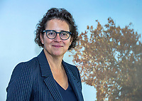 UTRECHT -   Caroline Huyskes, President NGF, voorzitter,  bestuurslid NGF. .  Algemene Ledenvergadering van de Nederlandse Golf Federatie NGF.   COPYRIGHT KOEN SUYK