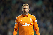 Allan McGregor (#1) of Rangers FC during the Ladbrokes Scottish Premiership match between Hibernian and Rangers at Easter Road, Edinburgh, Scotland on 19 December 2018.