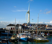 Spinnaker tower, Portsmouth, Hampshire, England