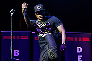 Rickey Bell of the group Bell, Biv, Devoe performs during the Summer Spirit Festival at Merriweather Post Pavilion in Columbia, Md on Sunday, August 6, 2017.