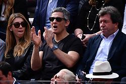 May 19, 2019 - Roma, Italia - Foto Alfredo Falcone - LaPresse.19/05/2019 Roma ( Italia).Sport Tennis.Rafael Nadal (esp) vs Novak Djokovic (srb).Internazionali BNL d'Italia 2019 .Nella foto:fiorello..Photo Alfredo Falcone - LaPresse.19/05/2019 Roma (Italy).Sport Tennis.Rafael Nadal (esp) vs Novak Djokovic (srb).Internazionali BNL d'Italia 2019.In the pic:fiorello (Credit Image: © Alfredo Falcone/Lapresse via ZUMA Press)