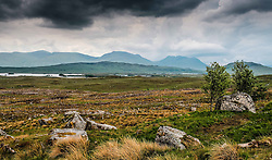 Storm clouds gathering over Rannoch Moor, Highlands of Scotland<br /> <br /> (c) Andrew Wilson | Edinburgh Elite media