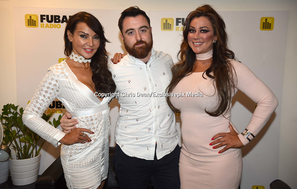 EXCLUSIVE<br /> Lisa Appleton &amp; Lizzie Cundy at Fubar Radio<br /> &copy;Chris Dean/Exclusivepix Media