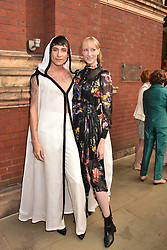 Kyle de Volle and Jade Parfitt at the Victoria & Albert Museum's Summer Party in partnership with Harrods at The V&A Museum, Exhibition Road, London, England. 20 June 2018.