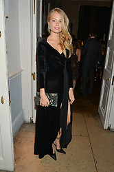 CHARLIE NEWMAN at the Tatler Little Black Book Party held at Home House Private Member's Club, Portman Square, London supported by CARAT on 6th November 2014.