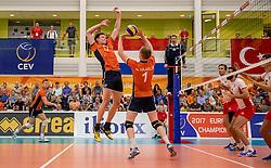 23-09-2016 NED: EK Kwalificatie Nederland - Oostenrijk, Koog aan de Zaan<br /> Nederland wint met 3-0 van Oostenrijk / Michael Parkinson #17