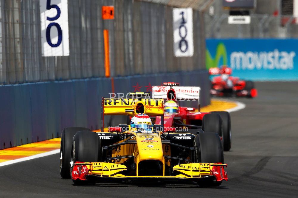 Motorsports / Formula 1: World Championship 2010, GP of Europe, 12 Vitaly Petrov (RUS, Renault F1 Team),