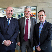 24.03.2017            <br /> Limerick Civic Trust, Marjorie Daly commissioned Jim Kemmy Portrait unveiling by Jan O'Sullivan TD at the Kemmy Business School, University of Limerick. <br /> <br /> Pictured at the event were, David O'Brien, CEO Limerick Civic Trust, Dr. Philip O'Regan, Dean of Kemmy Business School, UL and Cllr. Joe Leddin. Picture: Alan Place