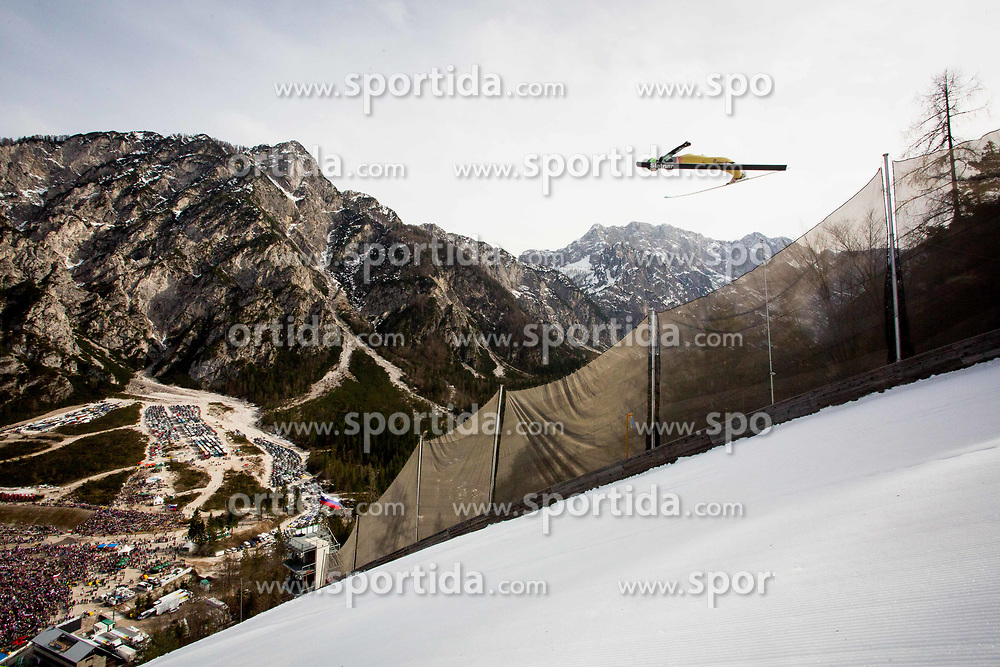 Ski jumper during the Ski Flying Hill Individual Competition on Day Two of FIS Ski Jumping World Cup Final 2017, on March 24, 2017 in Planica, Slovenia. Photo by Ziga Zupan / Sportida