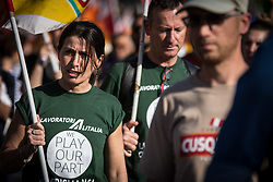 May 27, 2017 - Rome, Italy, Italy - Demonstration to protest for the situation in Alitalia. (Credit Image: © Andrea Ronchini/Pacific Press via ZUMA Wire)