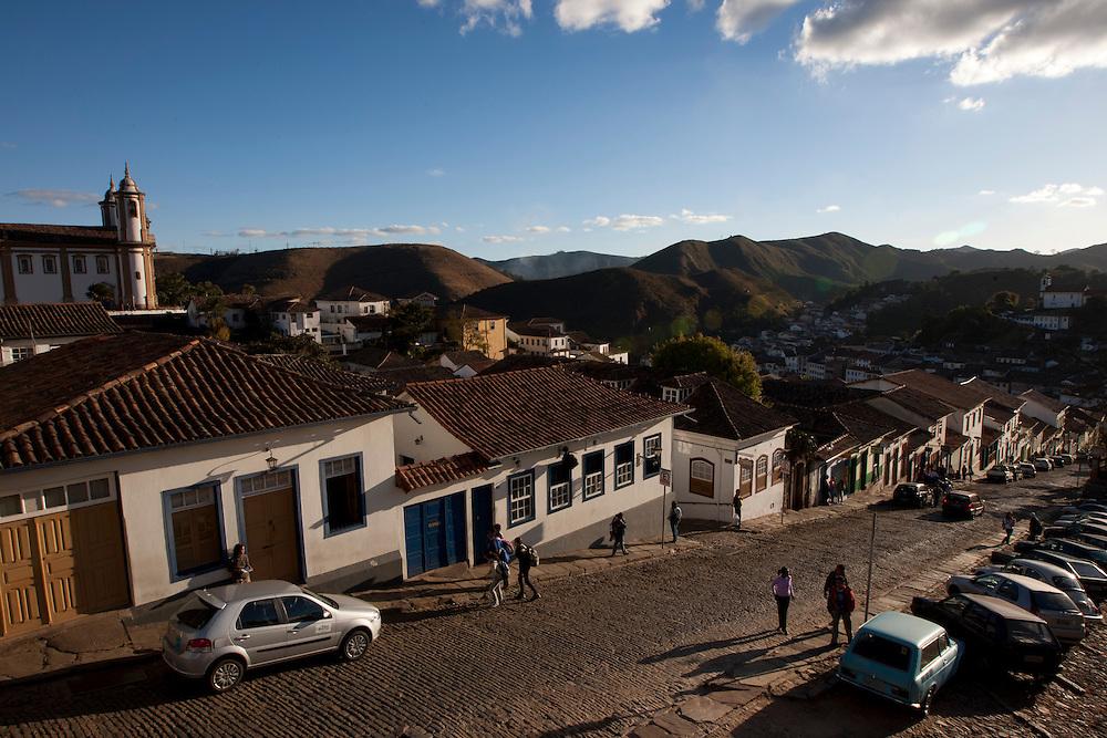 Ouro Preto_MG, Brasil...Vista panoramica de Ouro Preto, Minas Gerais...Panoramic view of Ouro Preto, Minas Gerais...Foto: MARCUS DESIMONI / NITRO
