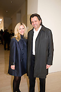 AMANDA WILKINSON; ANTHONY WILKINSON, Unveiled; New art from the Middle East. The Saatchi Gallery in partnership with Phillips de Pury. Saatchi Gallery. King's Rd. London. 29 January 2009 *** Local Caption *** -DO NOT ARCHIVE-© Copyright Photograph by Dafydd Jones. 248 Clapham Rd. London SW9 0PZ. Tel 0207 820 0771. www.dafjones.com.<br /> AMANDA WILKINSON; ANTHONY WILKINSON, Unveiled; New art from the Middle East. The Saatchi Gallery in partnership with Phillips de Pury. Saatchi Gallery. King's Rd. London. 29 January 2009