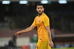 October 28, 2018 - Naples, Naples, Italy - Konstantinos Manolas of AS Roma during the Serie A TIM match between SSC Napoli and AS Roma at Stadio San Paolo Naples Italy on 28 October 2018. (Credit Image: © Franco Romano/NurPhoto via ZUMA Press)