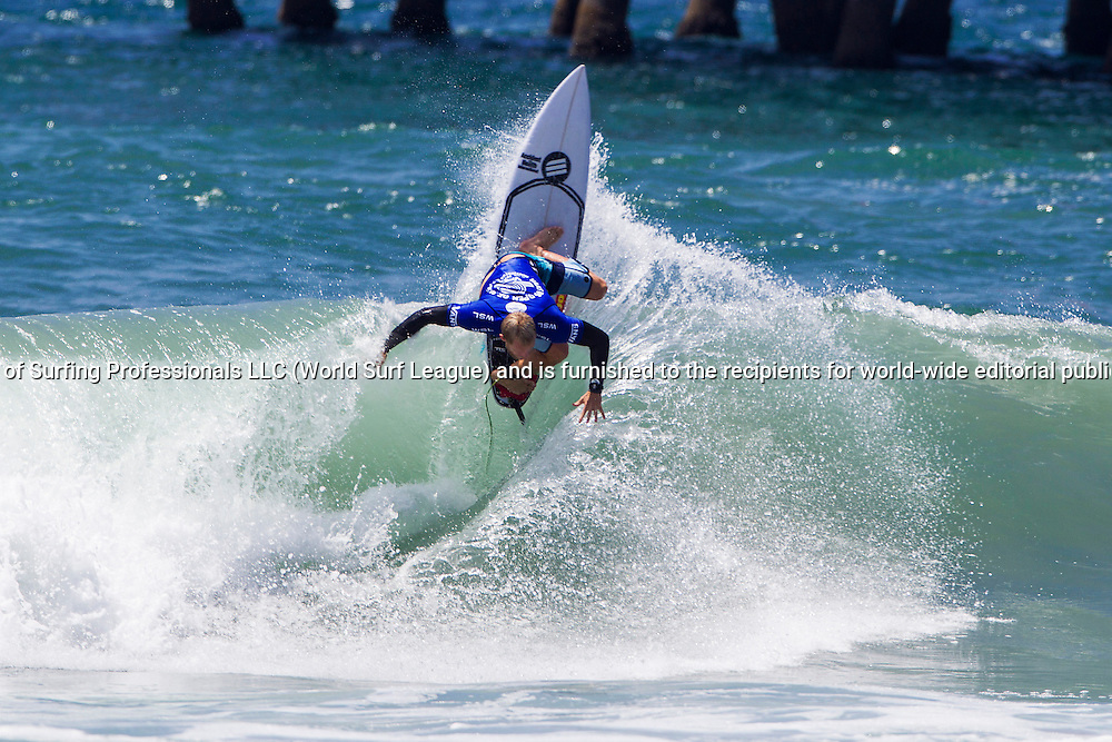 HUNTINGTON BEACH, CA, USA - Wednesday July 29th 2015 -  Adam Melling (AUS) won his heat and advanced into round 3 of the Mens QS10,000 at the Vans US Open of Surfing. <br /> Image: &copy; WSL/Rowland<br /> Photographer: Rowland<br /> Social Media: @wsl @nomadshotelsc<br /> This Image is the Copyright of the World Surf League. It is for editorial use only. No commercial rights granted.