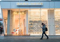 Zara Home store on famous shopping street Kurfurstendamm , Kudamm, in Berlin, Germany.