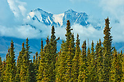 Glaciers. Kluane Ranges, the easternmost of the St Elias Mountains. <br />