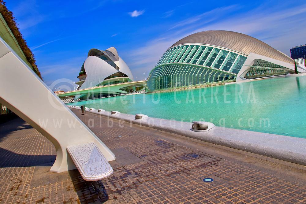 Alberto Carrera, Hemisferic and Palace of Arts Reina Sofía, City of Arts and Sciences, Valencia Comunity, Valencia, Spain, Europe