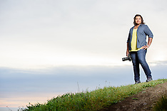 Professional Portraits: Sivani Babu - Ever the Wayfarer - San Francisco Bay Area Marin Headlands CA