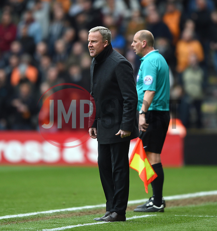 Wolves' Head Coach Kenny Jackett - Photo mandatory by-line: Paul Knight/JMP - Mobile: 07966 386802 - 02/05/2015 - SPORT - Football - Wolverhampton - Molineux Stadium - Wolverhampton Wanderers v Millwall - Sky Bet Championship
