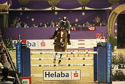 Weishaupt, Philipp (GER), Liberty Son<br /> Frankfurt - Festhallen Reitturnier 2015<br /> Helaba Preis Int. Springen<br /> www.sportfotos-lafrentz.de