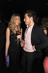JAMES MIDDLETON and ALEX FINLAY at the Tatler Magazine Little Black Book party at Tramp, 40 Jermyn Street, London SW1 on 5th November 2008.