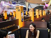 Berlin, ITB 2018. Bangkok booths.
