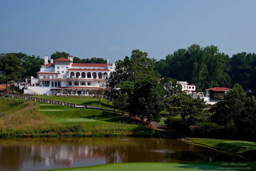 Architecture Photography Course congressional country club exterior view from golf course