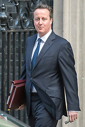 © Licensed to London News Pictures. 04/03/2015. Westminster, UK British Prime Minister David Cameron leaves Number 10 Downing Street today 4th March 2015. Photo credit : Stephen Simpson/LNP