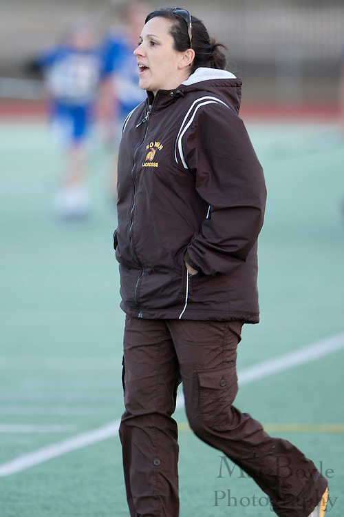 Rowan University  Women's Lacrosse Head Coach Lindsay Delaney.
