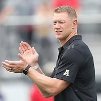 ORLANDO, FL - NOVEMBER 11: Head coach Scott Frost of the UCF Knights is seen during a NCAA football game between the University of Connecticut Huskies and the UCF Knights on November 11, 2017 in Orlando, Florida. (Photo by Alex Menendez/Getty Images) *** Local Caption *** Scott Frost