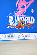 Cankaya Ecem is a Turkish rhythmic gymnastics athlete, born in Konak in 2000.