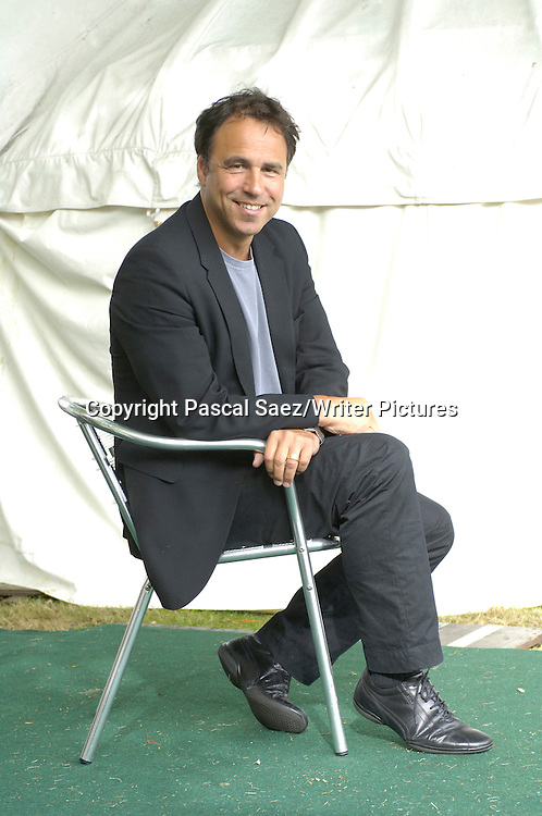 British children's writer and screenwriter Anthony Horowitz, author of the &quot;Alex Rider&quot; series of books, at the Edinburgh International Book Festival 2005<br /> <br /> Copyright Pascal Saez/Writer Pictures<br /> contact +44 (0)20 822 41564 <br /> info@writerpictures.com <br /> www.writerpictures.com