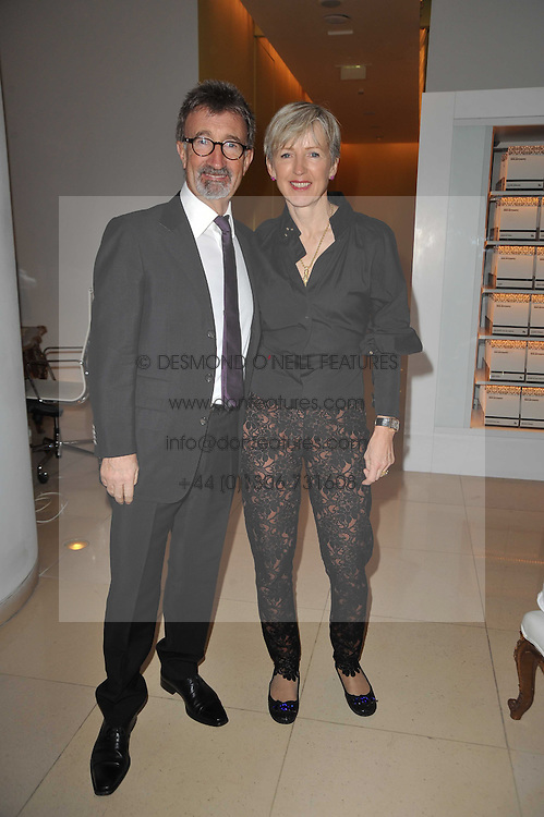 EDDIE & MARIE JORDAN at a Burns Night dinner in aid of cancer charity CLIC Sargent held at St.Martin's Lane Hotel, London on 25th January 2011.