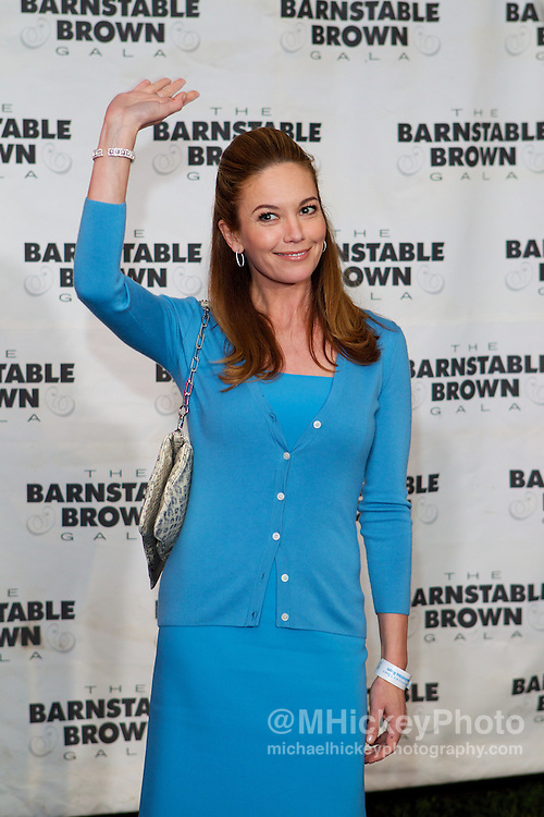 Actress Diane Lane appears at the Barnstable Brown Gala in Louisville, Kentucky.