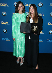 BEVERLY HILLS, LOS ANGELES, CA, USA - FEBRUARY 03: 70th Annual Directors Guild Of America Awards held at The Beverly Hilton Hotel on February 3, 2018 in Beverly Hills, Los Angeles, California, United States. 03 Feb 2018 Pictured: Frankie Shaw, Niki Caro. Photo credit: IPA/MEGA TheMegaAgency.com +1 888 505 6342