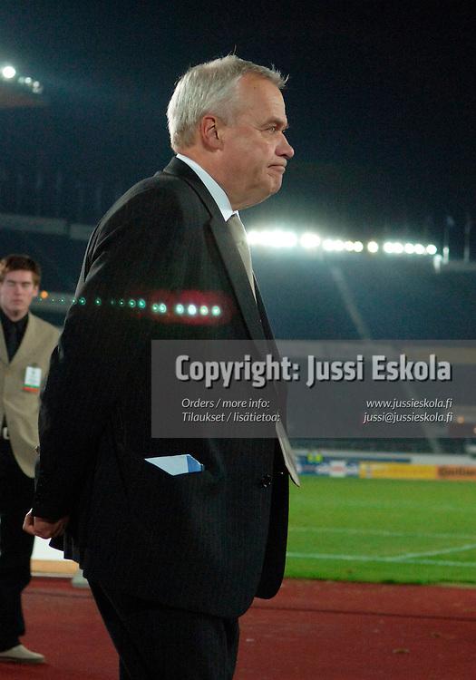 Jyrki Heliskoski.&amp;#xA;A-maajoukkue.&amp;#xA;Suomi-Tshekki, Helsinki 12.10.2005.&amp;#xA;Photo: Jussi Eskola<br />