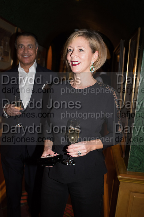 VIPIN SAREEN; REBECCA CARCELLE, Pedro Girao of Christies and Duncan Macintyre of Lombard Odier host the last dinner at the Old Annabels. 44 Berkeley Sq. London. 15 November 2018