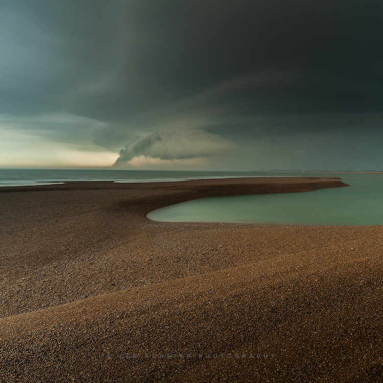 Had a very summery sunrise at Bawdsey this morning, but as I was heading home a storm started coming in, so took a detour to Shingle Street. Shortly after this amazing cloud appeared, I was caught in the most almighty thunderstorm with driving pea-sized hail and visibility wnet down to about 10ft. Safe to say I got more than a little wet...