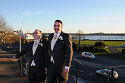 Southampton Registry office Wedding of Andy Smith & Steve 25.3.17.<br />