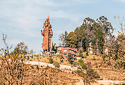 Lord Shiva statue the tallest Shiva statue in the world Kailaskut hill Chitapol Bhaktapur district Nepal