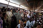 Mass refugee wedding