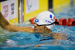 DOUARD Stephanie FRA at 2015 IPC Swimming World Championships -  Women's 100m Breaststroke SB11