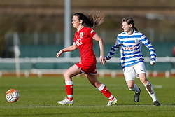 Chloe Arthur of Bristol City Women in action - Mandatory byline: Rogan Thomson/JMP - 14/02/2016 - FOOTBALL - Stoke Gifford Stadium - Bristol, England - Bristol City Women v Queens Park Rangers Ladies - SSE Women's FA Cup Third Round Proper.