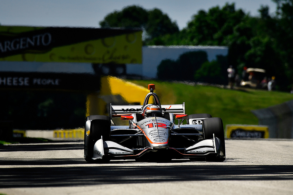 Will Power, Team Penske Chevrolet<br /> Saturday 23 June 2018<br /> KOHLER Grand Prix at Road America<br /> Verizon IndyCar Series<br /> Road America WI USA<br /> World Copyright: Scott R LePage