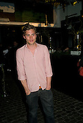 JAMIE DORNAN, Beyond the Rave, Celebration of Hammer Film's  first horror movie broadcasr on MYSpace. Shoreditch House. London. 16 April 2008.  *** Local Caption *** -DO NOT ARCHIVE-© Copyright Photograph by Dafydd Jones. 248 Clapham Rd. London SW9 0PZ. Tel 0207 820 0771. www.dafjones.com.