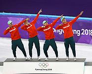 Men - 5000m Relay - 25 February 2018
