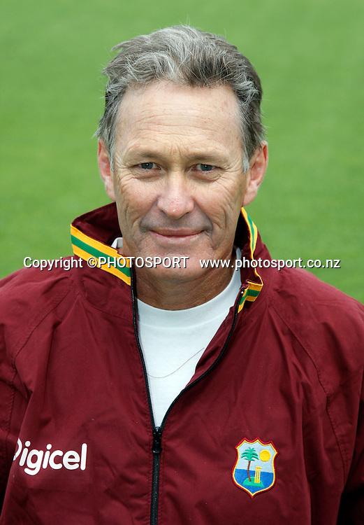 Coach John Dyson. West Indes Headshots, Auckland. 2 December 2008. Photo: Andrew Cornaga/PHOTOSPORT