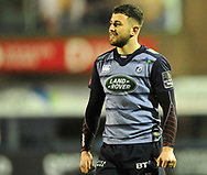 Cardiff Blues' Aled Summerhill<br /> <br /> Photographer Mike Jones/Replay Images<br /> <br /> Guinness PRO14 Round 14 - Cardiff Blues v Cheetahs - Saturday 10th February 2018 - Cardiff Arms Park - Cardiff<br /> <br /> World Copyright © Replay Images . All rights reserved. info@replayimages.co.uk - http://replayimages.co.uk